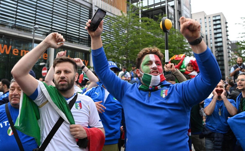 I tifosi italiani si preparano a seguire la Nazionale